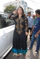 Charmi in Black Dress @ Sriroop Cosmetic Surgery Centre, Hyderabad