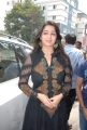Charmme in Black Dress @ Sriroop Cosmetic Surgery Centre, Hyderabad
