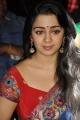 Actress Charmme in Saree Stills @ Jyothi Lakshmi Success Meet