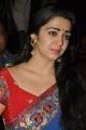 Actress Charmme Saree Stills @ Jyothi Lakshmi Success Meet