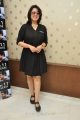 Telugu Actress Charmme Kaur Stills in Black Dress