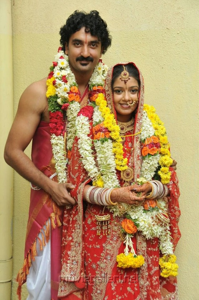 Actress Chaya Singh Marriage Photos with Artist Krishna