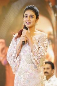 Actress Priya Prakash Varrier @ Check Movie Press Meet Stills