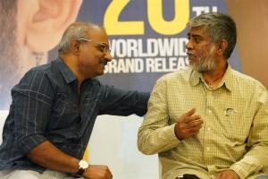 Kalyani Malik, Chandra Sekhar Yeleti @ Check Movie Press Meet Stills