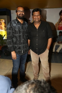 Rajesh M Selva @ Cheekati Rajyam Premiere Show at Prasads Imax, Hyderabad