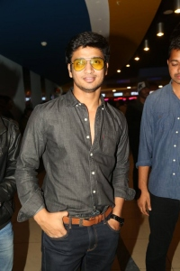 Nikhil Siddharth @ Cheekati Rajyam Premiere Show at Prasads Imax, Hyderabad