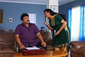 Prabhu, Urvashi in Chellathambi Tamil Movie Stills
