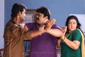 Kailash, Prabhu, Urvashi in Chellathambi Tamil Movie Stills