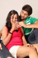 Amitha Rao, Sreeram Kodali in Chemistry Telugu Movie Hot Stills