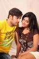 Sreeram Kodali, Amitha Rao in Chemistry Telugu Movie Hot Stills
