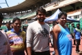 Arya @ Chennai District Masters Athletic Association District Sports Meet Stills
