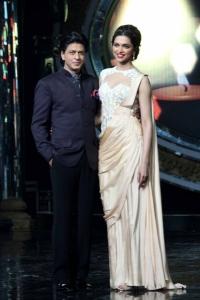Shahrukh Khan, Deepika Padukone Promotes Chennai Express @ Indian Idol Juniors