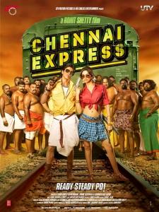 SRK, Deepika in Chennai Express Movie Release Posters