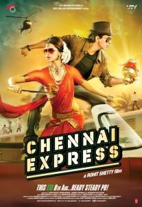Deepika Padukone, Shahrukh Khan in Chennai Express Movie Release Posters