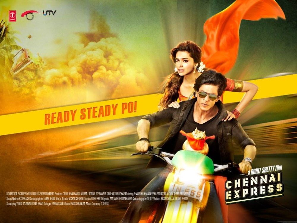 Picture 532269   Deepika Padukone, Shahrukh Khan in ...