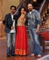 Shahrukh Khan, Deepika Padukone, Rohit Shetty @ Chennai Express Promotions