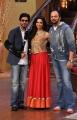 Shahrukh Khan, Deepika Padukone, Rohit Shetty @ Chennai Express Promotion