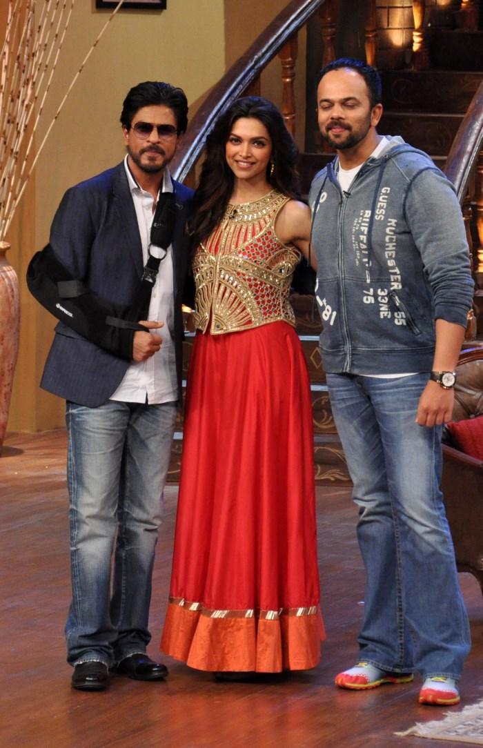 Chennai Express Promotion Photos | Shahrukh Khan | Deepika ...
