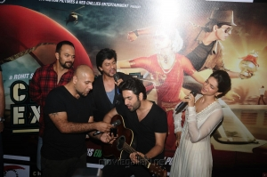 Chennai Express Theatrical Trailer Launch Stills