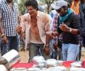 Actor Shahrukh Khan at Chennai Express Working Stills
