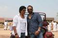 Shahrukh Khan, Rohit Shetty at Chennai Express Working Stills