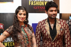Lakshmi Rai, Ajmal Ameer at Chennai International Fashion Week 2012 Day 3 Stills