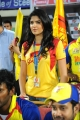 Deeksha Seth @ Chennai Rhinos vs Telugu Warriors Match Stills