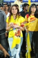 Sonia Agarwal @ Chennai Rhinos vs Telugu Warriors Match Stills