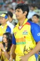 Actor Jeeva @ Chennai Rhinos vs Telugu Warriors Match Stills