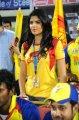 Deeksha Seth @ Chennai Rhinos vs Telugu Warriors Match Stills