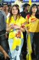 Sonia Agarwal @ Chennai Rhinos vs Telugu Warriors Match Stills