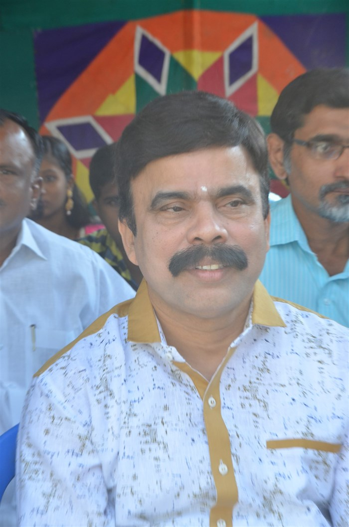 Powerstar Srinivasan @ Chennai to Bangkok Movie Launch Stills