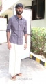 Actor Dhanush at Chennaiyil Oru Naal Audio Launch Stills