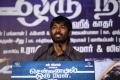 Actor Dhanush at Chennaiyil Oru Naal Audio Launch Photos