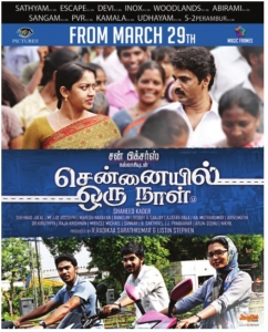 Chennaiyil Oru Naal Movie Release Posters