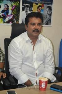 Actor Sarathkumar at Chennaiyil Oru Naal Success Meet Photos