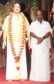 Mr. S. Jagathratsagan - MP @ Chennaiyil Thiruvaiyaru 15th Season Opening Ceremony Photos