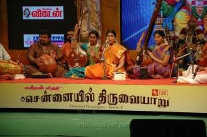 Singer Nithyasree Mahadevan at Chennaiyil Thiruvaiyaru 2012 Photos