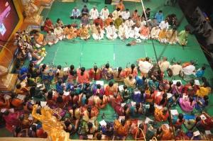 Pancharatna Kritis by P.S.Narayanaswamy at Chennaiyil Thiruvaiyaru 2012 Photos
