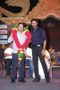 Ishari K Ganesh, Prabhu Deva @ Chennaiyil Thiruvaiyaru 2015 (Season 11) Inauguration Stills