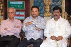 Ishari K Ganesh, Gnanasambandam @ Chennaiyil Thiruvaiyaru Season 11 Inauguration Stills