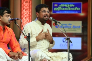 Carnatica Brothers & Dushyanth Sridhar @ Chennaiyil Thiruvaiyaru 2016 Day 7 Photos
