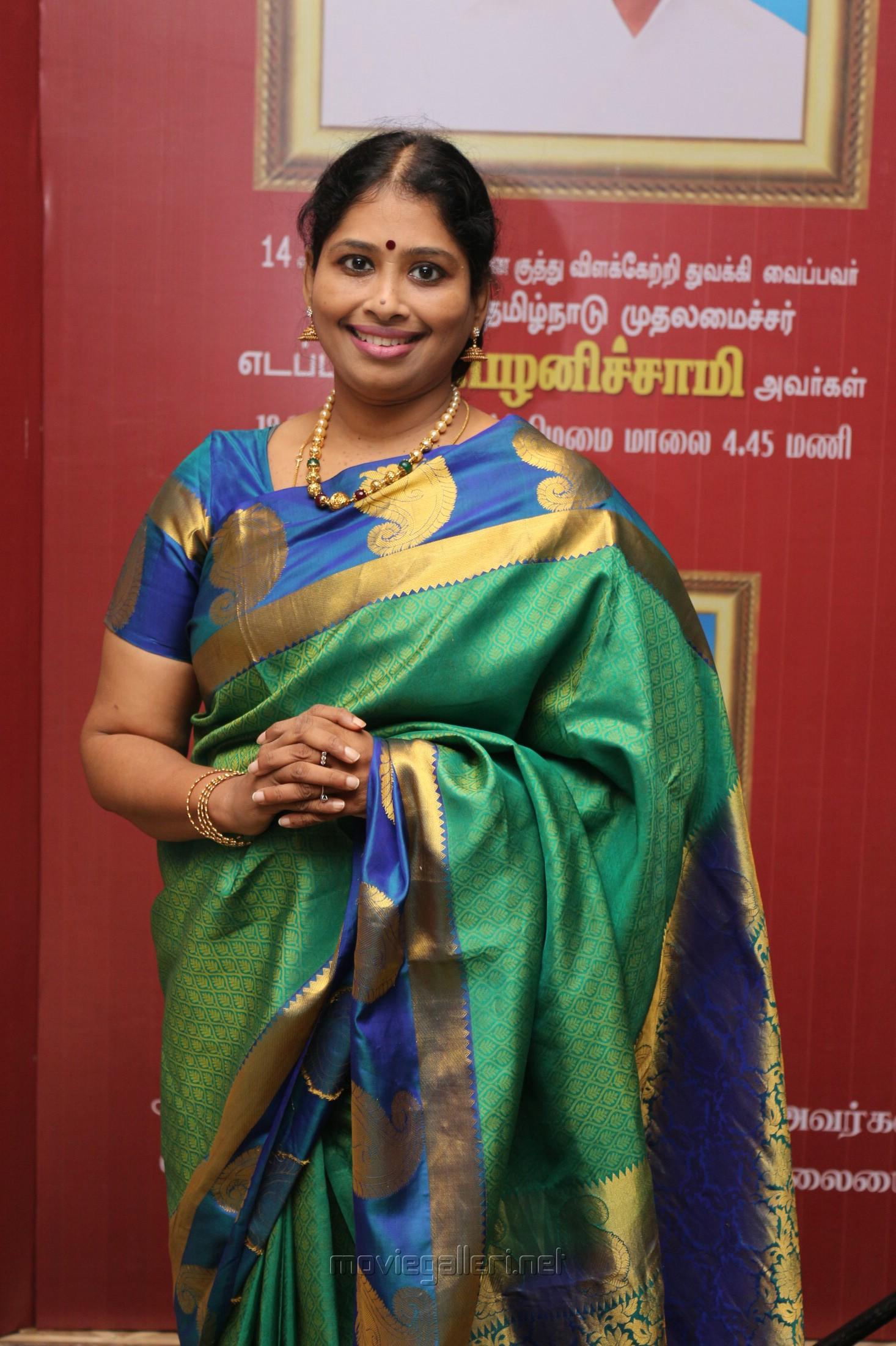 Nithyasree Mahadevan @ Chennaiyil Thiruvaiyaru 2018 Season 14 Press Meet Stills