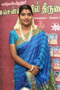 Mangayarkarasi @ Chennaiyil Thiruvaiyaru 9th Season Inauguration Stills