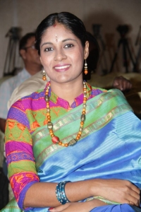 Singer Charulatha Mani @ Chennaiyil Thiruvaiyaru 9th Season Inauguration Stills