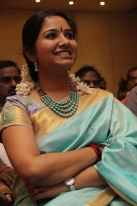 Singer Mahathi @ Chennaiyil Thiruvaiyaru 9th Season Inauguration Stills