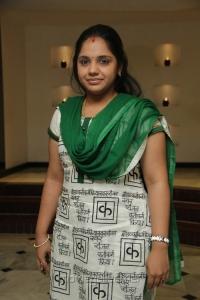 Singer Saindhavi @ Chennaiyil Thiruvaiyaru 9th Season Inauguration Stills