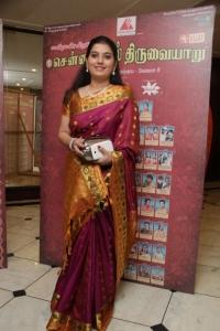 Mahanadhi Shobana @ Chennaiyil Thiruvaiyaru 9th Season Inauguration Stills