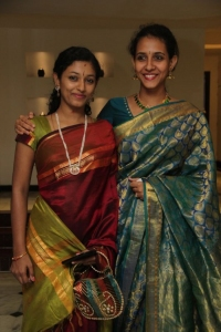 Madhu Iyer, Rahini Sree @ Chennaiyil Thiruvaiyaru 9th Season Inauguration Stills