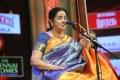 Singer Aruna Sairam @ Chennaiyil Thiruvaiyaru Season 12 (Day 8) Stills